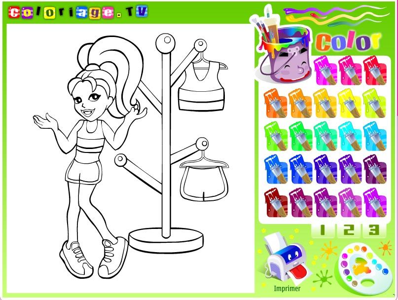 Kolorowanki Barbie Gry Malowanki